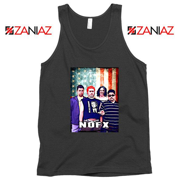 Flag America Nofx Black Tank Top