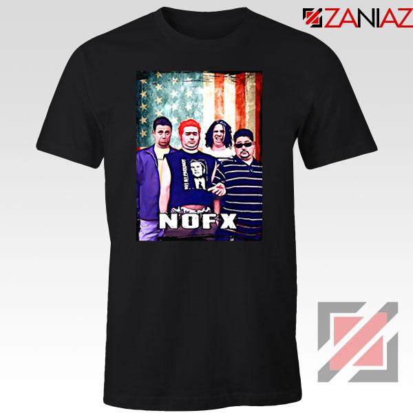 Flag America Nofx Black Tshirt