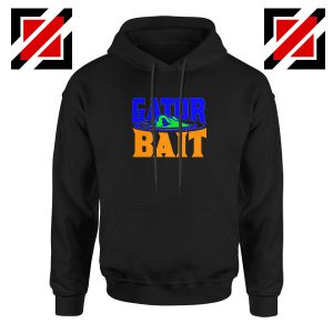 Gator Bait Black Hoodie