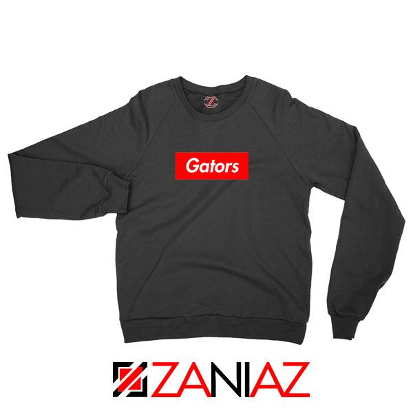 Gators College Sports Black Sweatshirt