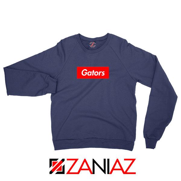 Gators College Sports Navy Blue Sweatshirt