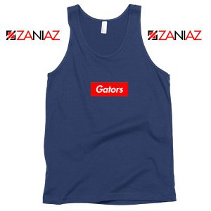 Gators College Sports Navy Blue Tank Top