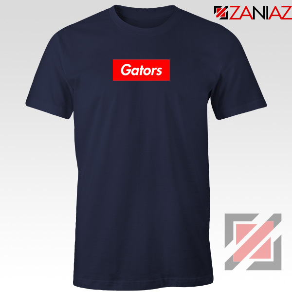 Gators College Sports Navy Blue Tshirt