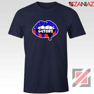 Gators Lips Navy Blue Tshirt