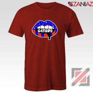 Gators Lips Red Tshirt
