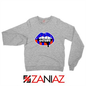 Gators Lips Sport Grey Sweatshirt