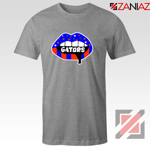 Gators Lips Sport Grey Tshirt