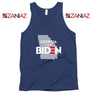 Georgia for Joe Biden Navy Blue Tank Top