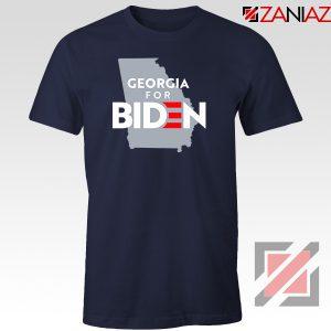 Georgia for Joe Biden Navy Blue Tshirt