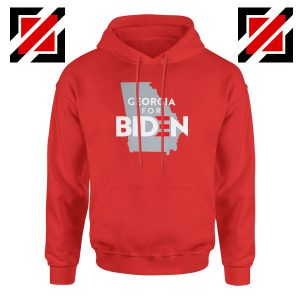 Georgia for Joe Biden Red Hoodie