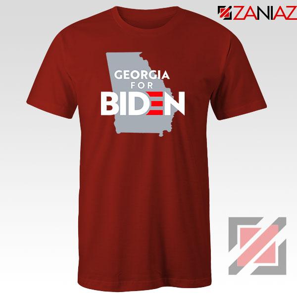 Georgia for Joe Biden Red Tshirt
