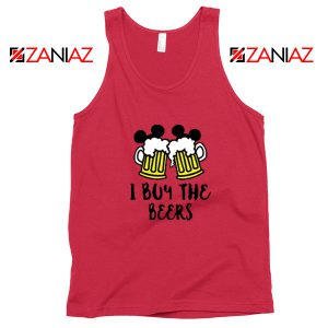 I Buy The Beers Red Tank Top