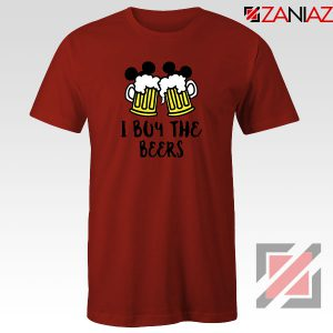 I Buy The Beers Red Tshirt