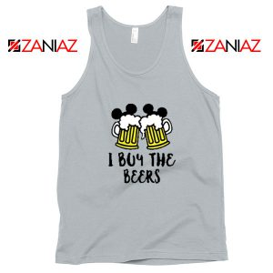 I Buy The Beers Sport Grey Tank Top
