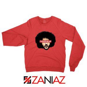I am With KAP Red Sweatshirt