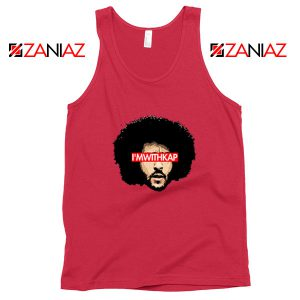I am With KAP Red Tank Top