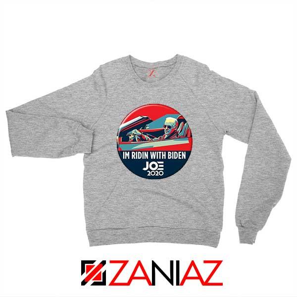 Im Ridin With Biden Sport Grey Sweatshirt