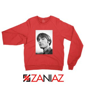 Jacob Ogawa Indie Singer Red Sweatshirt