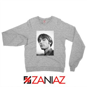 Jacob Ogawa Indie Singer Sport Grey Sweatshirt