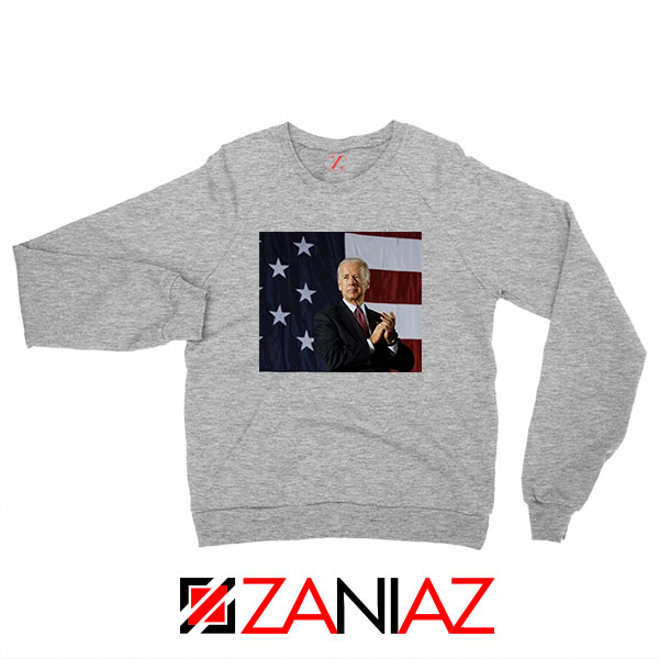 Joe Biden 2020 Sport Grey Sweatshirt