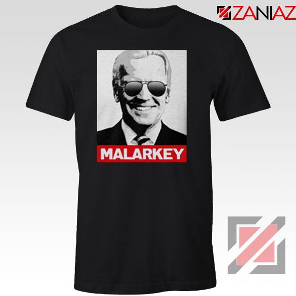 Joe Biden Malarkey Black Tshirt