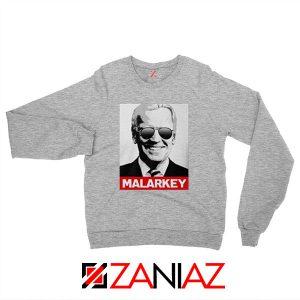 Joe Biden Malarkey Sport Grey Sweatshirt