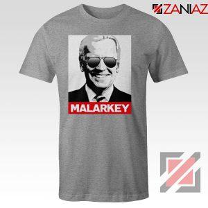 Joe Biden Malarkey Sport Grey Tshirt