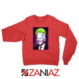 Joe Biden Red Sweatshirt