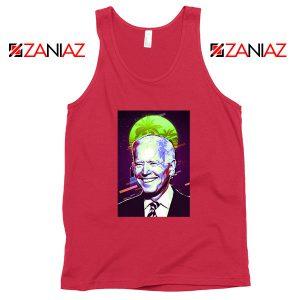 Joe Biden Red Tank Top