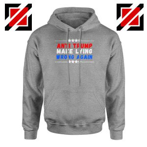 Make Lying Wrong Again Sport Grey Hoodie