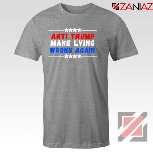 Make Lying Wrong Again Sport Grey Tshirt