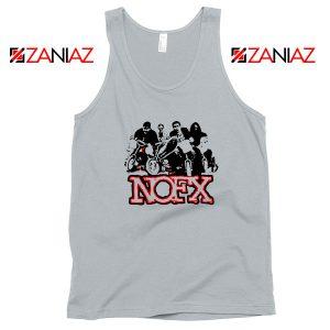 NOFX Rock Bands Sport Grey Tank Top