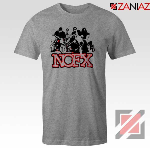 NOFX Rock Bands Sport Grey Tshirt