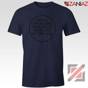 Native Americans Navy Blue Tshirt
