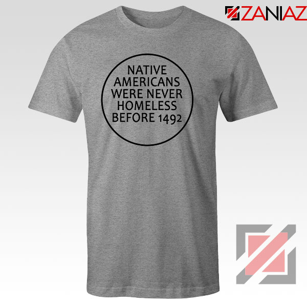 Native Americans Sport Grey Tshirt