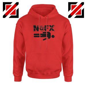 Nofx Band People Facemash Red Hoodie