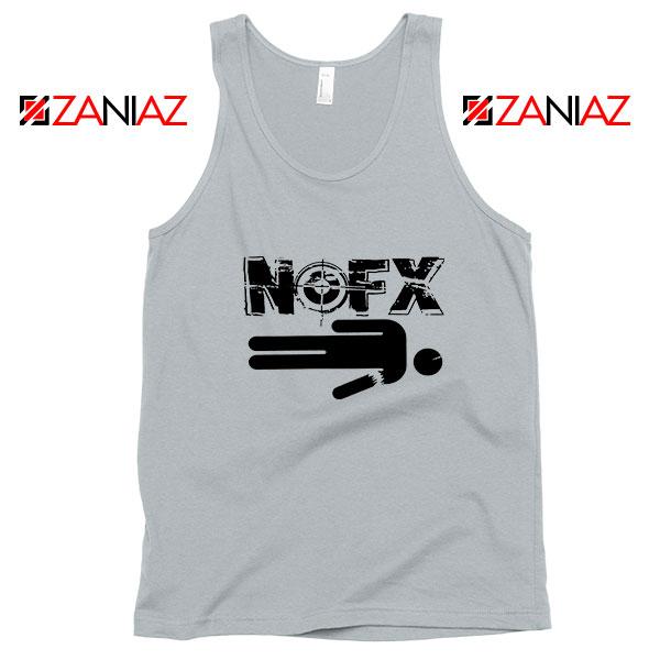 Nofx Band People Facemash Sport Grey Tank Top
