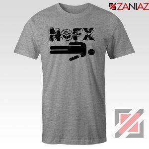 Nofx Band People Facemash Sport Grey Tshirt