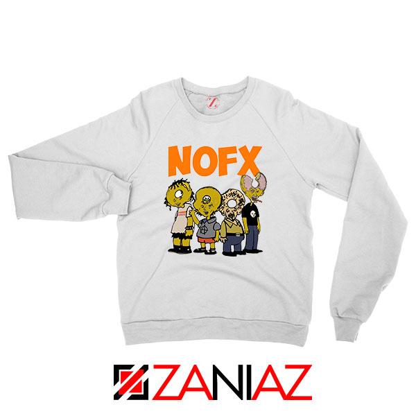 Nofx Scare Cartoon Sweatshirt