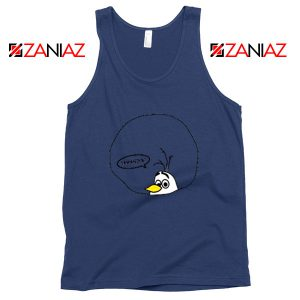 Olaf Samantha Navy Blue Tank Top