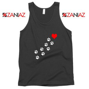 Paws Dogs Heart Tank Top
