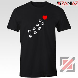 Paws Dogs Heart Tshirt