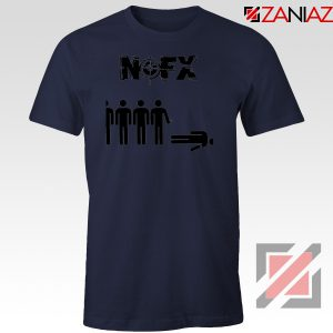 Punk Nofx Band Navy Blue Tshirt