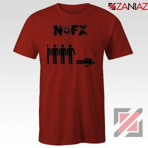 Punk Nofx Band Red Tshirt