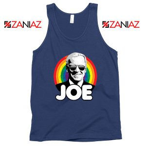 Rainbow Joe Navy Blue Tank Top