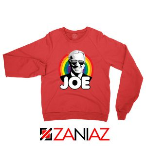Rainbow Joe Red Sweatshirt