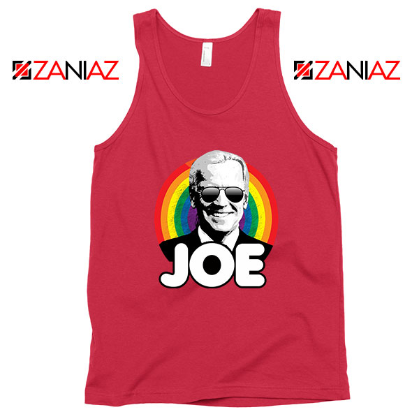 Rainbow Joe Red Tank Top