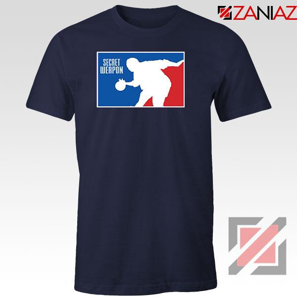 Secret Weapon Stanley Hudson Navy Blue Tshirt
