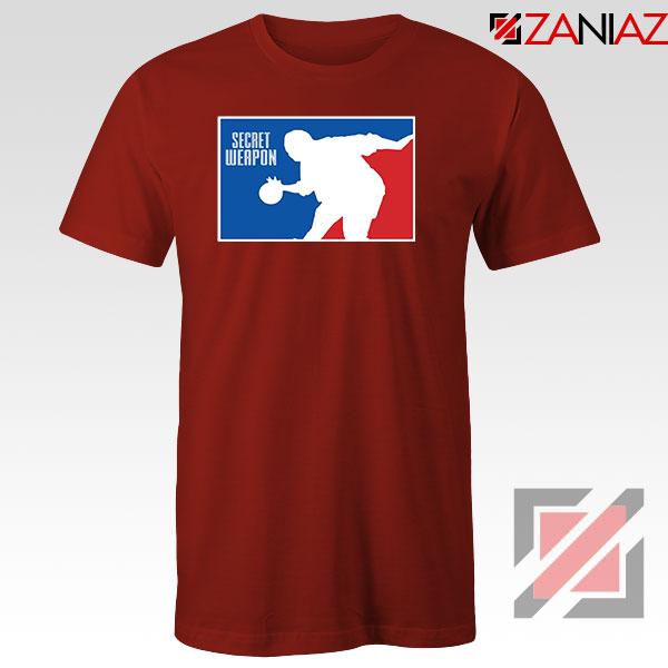 Secret Weapon Stanley Hudson Red Tshirt