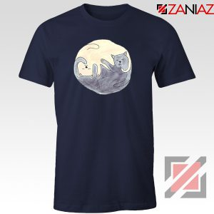 Sleeping Cats Navy Blue Tshirt